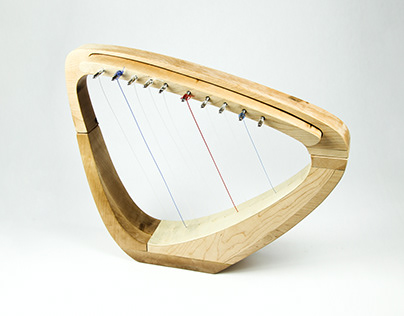 Foldable Harp