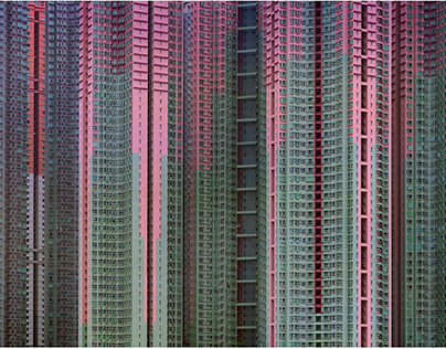 Architecture of densitiy by Michael Wolf (Hong Kong)