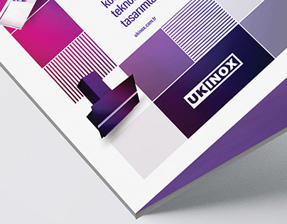 Brochure cover design // Ukinox.