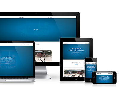 HAPPY LAZY: WORDPRESS RESPONSIVE WEBSITE DESIGN
