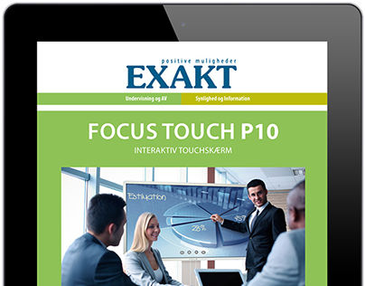Focus Touch digital brochure, Exakt