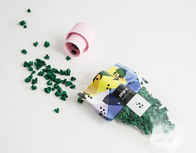 Packaging Spirulina