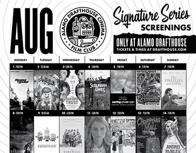 FILM CLUB SCREENING CALENDAR