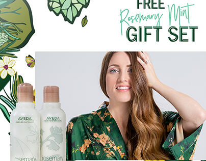 Aveda Aroma Campaign - First Activation