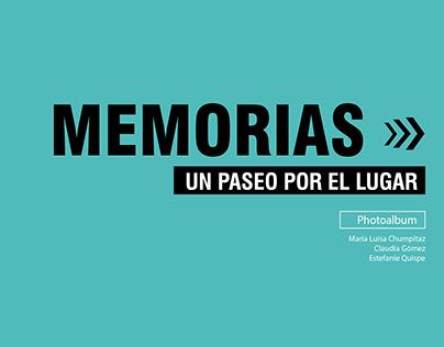 2016 -'Memories' Book: A walk by the Rímac River
