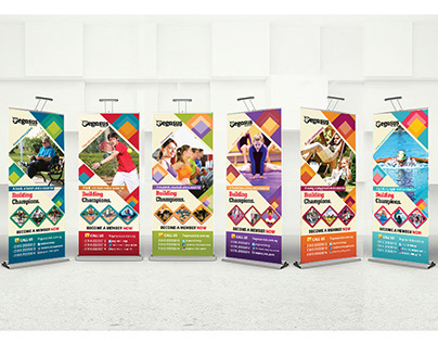 Sports Roll-up Banners