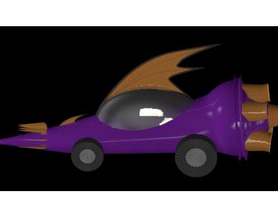 Carro da Corrida Maluca - Dick Vigarista
