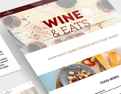 Off the Vine Responsive Website