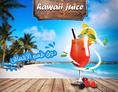 juice social media ad
