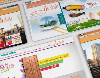 sharjah international book fair   Interactive Designs