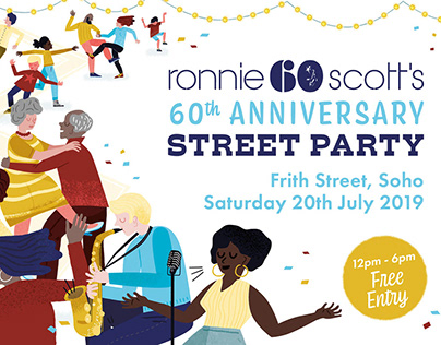Ronnie Scott's Street Party