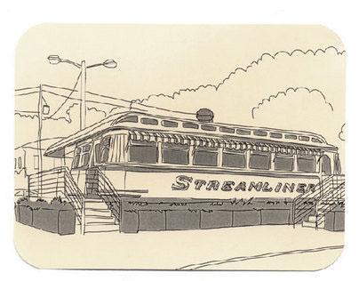 Savannah Postcards Drawings