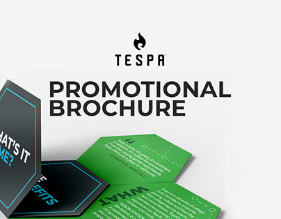 Tespa Promotional Booklet (Hexagon Fold-Out)