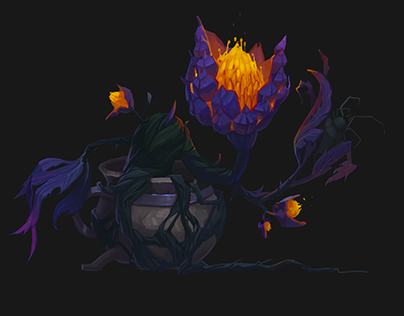 Concept art of Fireblossom