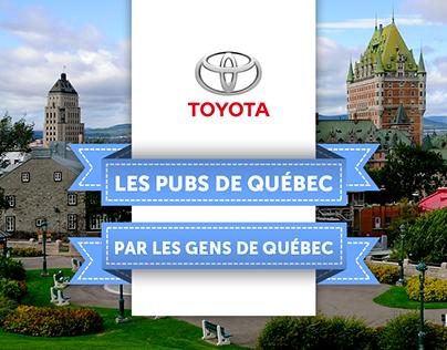 Toyota - Pubs de Québec