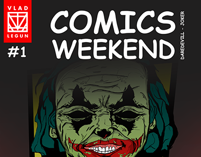 COMICS WEEKEND - #1 Illustration