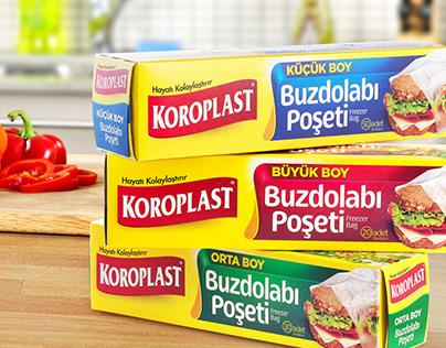 Koroplast Freezer Bag