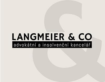 Langmeier & Co. Corporate Identity.