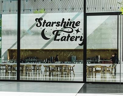 Brand Identity & Logo Design - Starshine Eatery & Cafe