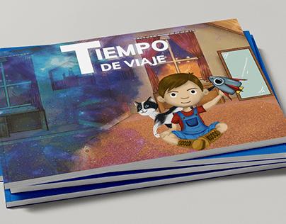 Diseño Editorial- Libro álbum Tiempo de viaje