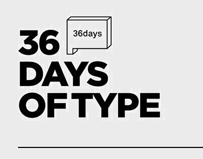 Proyecto #36daysoftype Edición #4