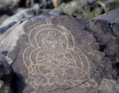 Buddhist Rock Art carving beyond Gandhara