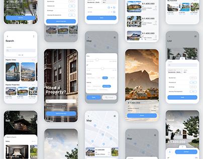 Nors - Real Estate App UI Kit