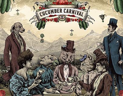 Cucumber Carnival event campaign ads