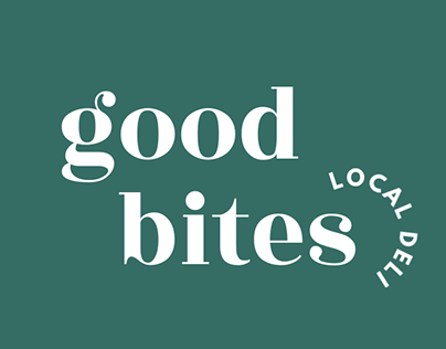 Good Bites Deli Branding