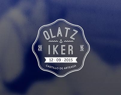 Olatz & Iker - wedding invitation