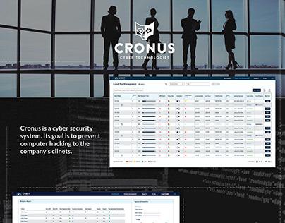 Cronus - web security system
