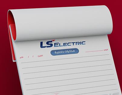 LS ELECTRIC, NOTEPAD DESIGN