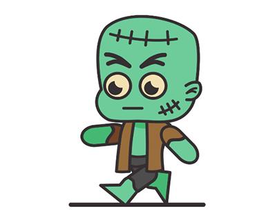 Zombie WalkCycle
