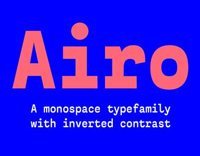 Airo Typefamily. Medium weight free!