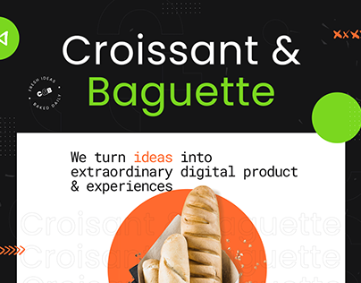 Creative Digital Agency - Website Design Concept