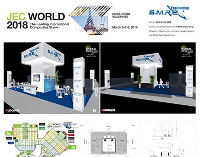 Progetto allestimento: JEC World 2018 - SMRE