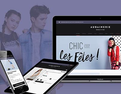 Aubainerie - E-commerce Website