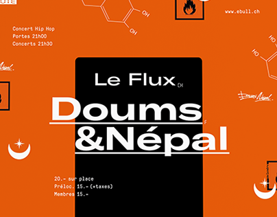 Doums x Nepal \ Animated poster