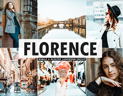 Free Florence Mobile & Desktop Lightroom Preset