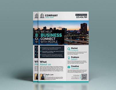 MODERN Corporate Business Branding Flyers Template