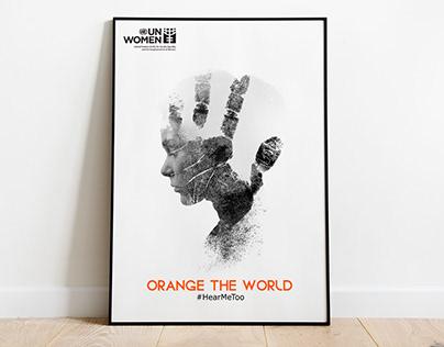 Poster for UN Women - Orange The World