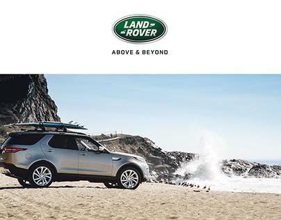 Land Rover Ukraine official website