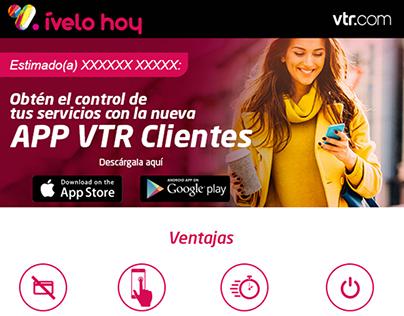 2017 E-Mailing App VTR clientes