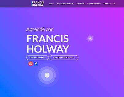 Francis Holway Desarrollo Web Wordpress