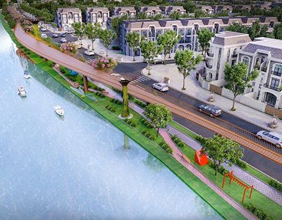 Những dự án nhà phố biệt thự nổi bật tại Long An