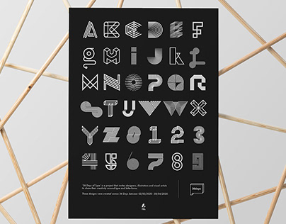 36 Days of Type - Poster Design