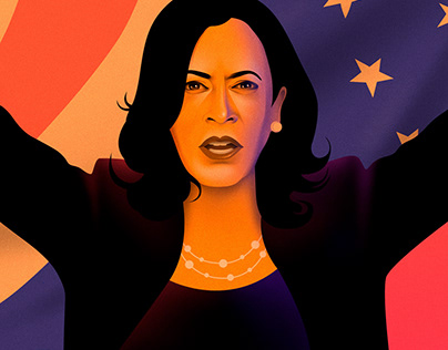 Kamala Harris. V for Victory