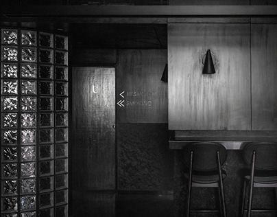 The Black Concrete by RENESA ARCHITECTURE STUDIO