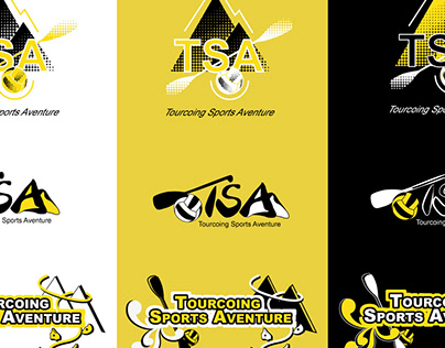 Climbing & kayak logo
