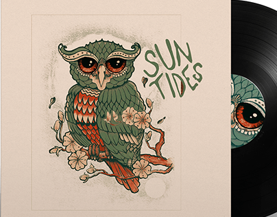 Album Cover, Traditional Illustration x EsoT